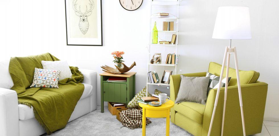 Come abbinare i colori in soggiorno | DireDonna