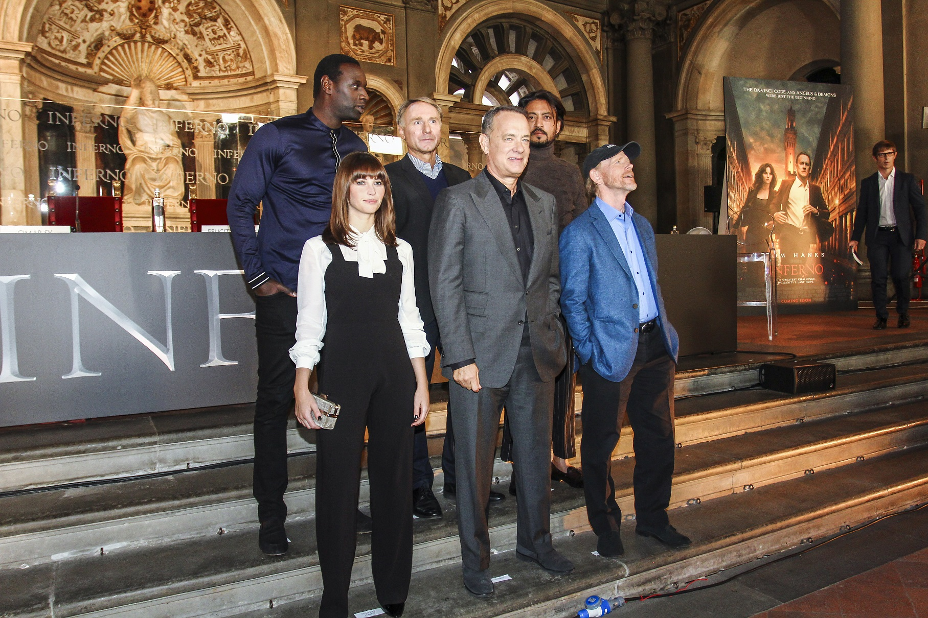 Inferno con Tom Hanks e Felicity Jones, foto