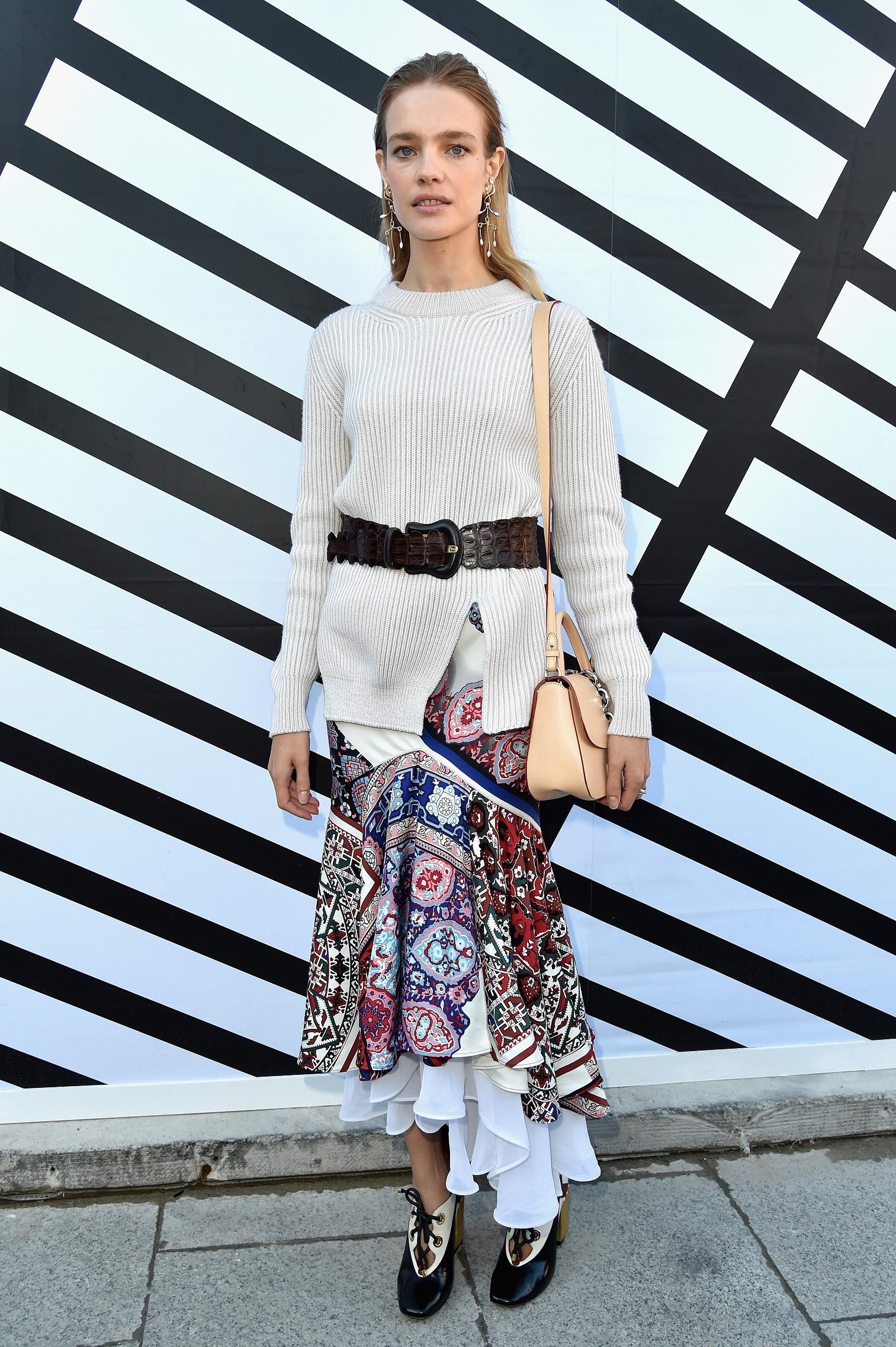 Louis Vuitton, gli ospiti della sfilata Primavera Estate 2017