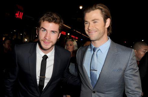 Chris Hemsworth e Zac Efron con lo smalto contro gli abusi sui minori