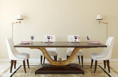 Come abbinare il tavolo alle sedie
