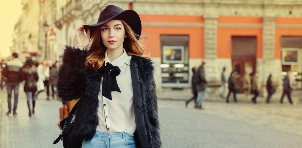 the latest fdc77 93298 10 outfit di tendenza per l'Autunno - Inverno 2017   DireDonna