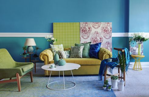 Colori caldi e colori freddi: combinazioni e idee per la casa