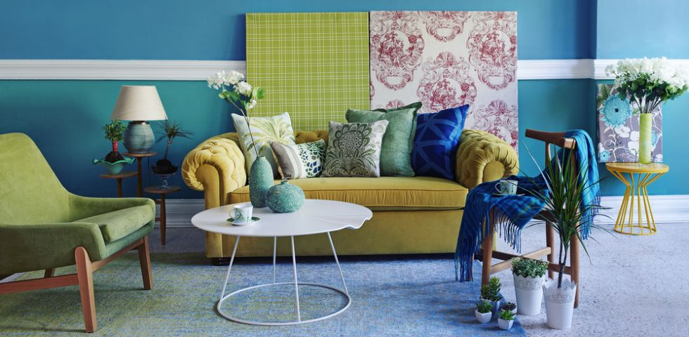 Colori Caldi Per Pareti Di Casa Foto.Colori Caldi E Colori Freddi Combinazioni E Idee Per La