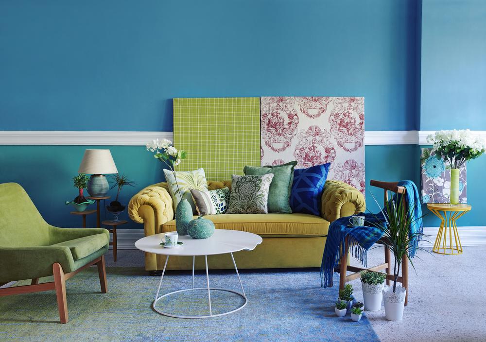 Colori caldi e colori freddi combinazioni e idee per la - Idee cucito per la casa ...