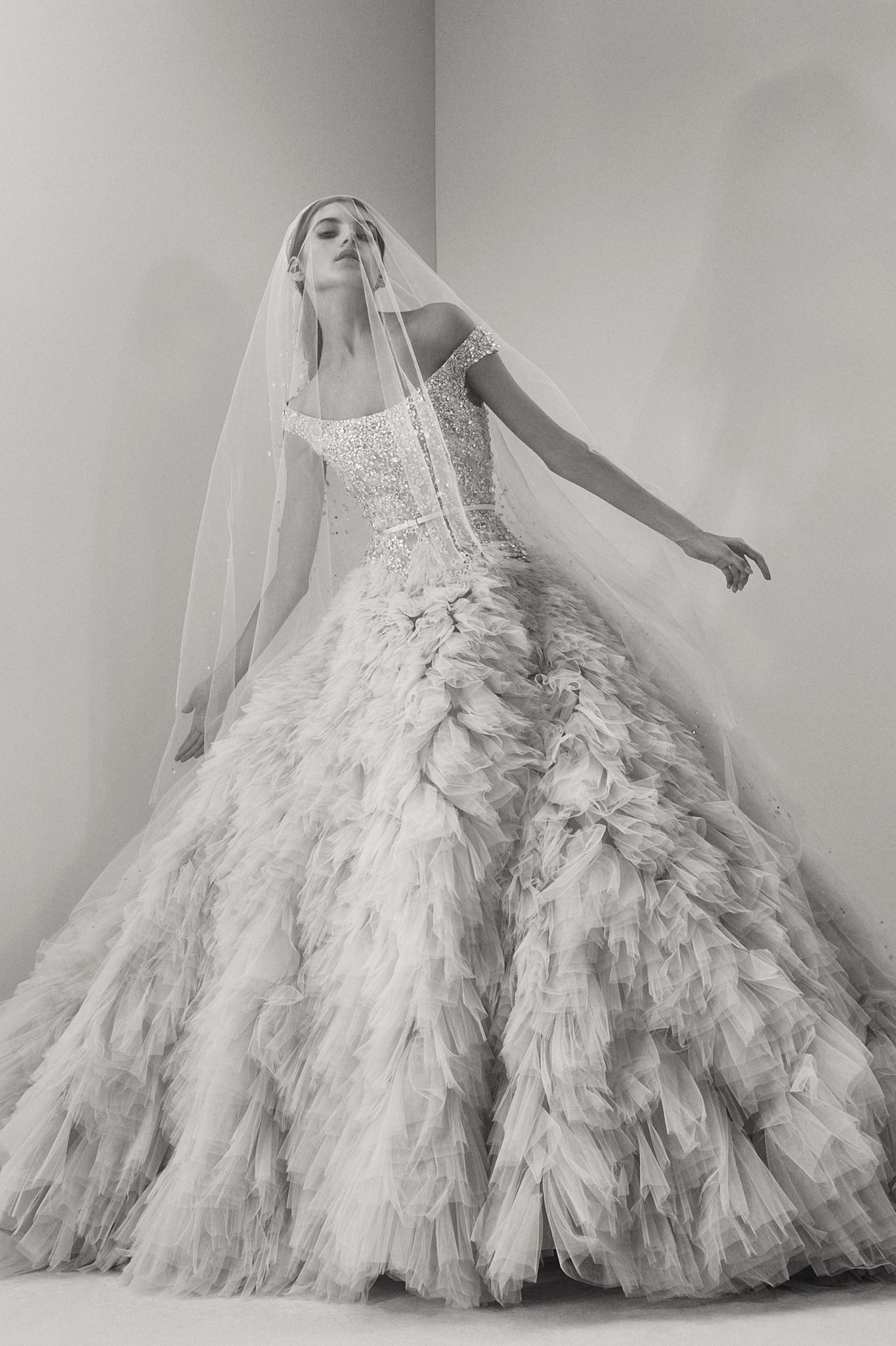 Elie Saab Sposa, le foto della collezione autunno 2017