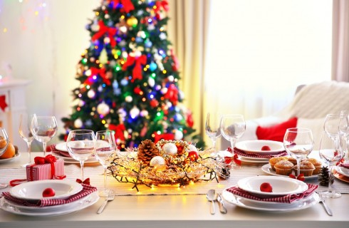 Tavola di Natale elegante: idee, soluzioni, consigli