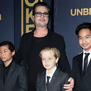 Brad Pitt progetta una vacanza a Disneyland con i figli
