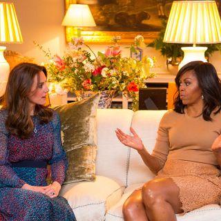 Kate Middleton consiglia a Michelle Obama il suo antirughe