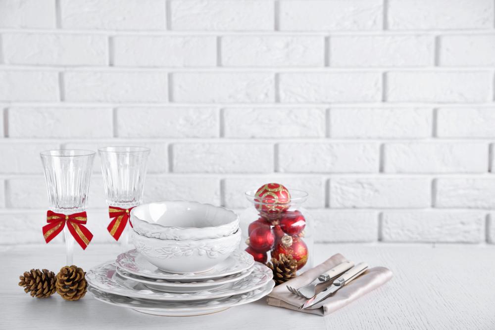 Come apparecchiare la tavola di natale diredonna for Tovaglie natalizie ikea