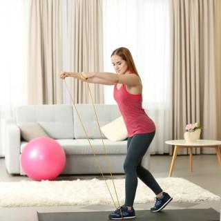 Allenare le gambe in casa con le loopband