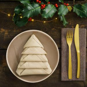 Inspiration: la tavola di Natale elegante