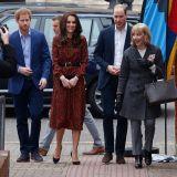 La famiglia reale al party di Natale