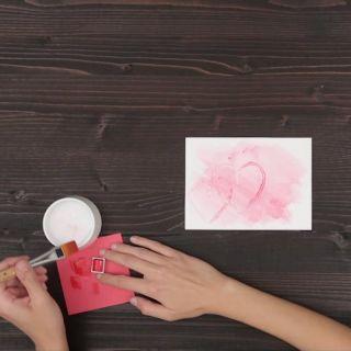 Biglietto di San Valentino fai da te: il tutorial