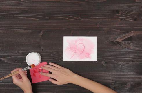 Biglietti San Valentino fai da te, tutorial