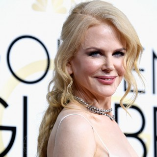 Nicole Kidman: look angelico ai Producers Guild Awards