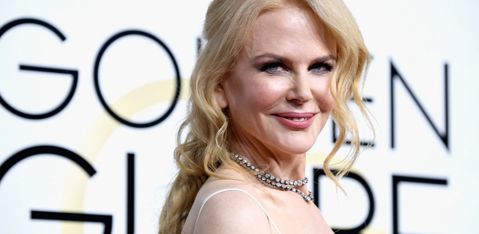 Nicole Kidman: look angelico agli Annual Producers Guild Awards