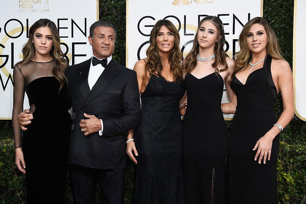 Sanremo 2017, le foto delle vallette Sistine Stallone, Annabelle Belmondo, Dominik Garcia e Anouchka Delon