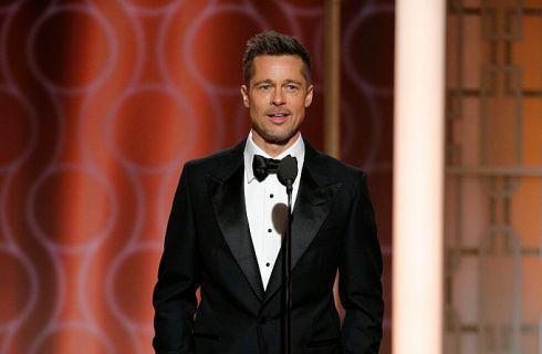 Golden Globe 2017: Brad Pitt applaudito dai colleghi dopo il divorzio da Angelina Jolie