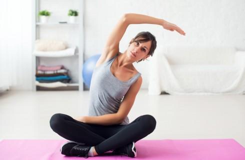 Esercizi di pilates per la schiena