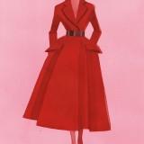 Dior, Haute Couture autunno inverno 2012, illustrazione di Mats Gustafson