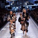Dolce & Gabbana Autunno Inverno 2017-2018 Amanda Harvey e Jason Harvey