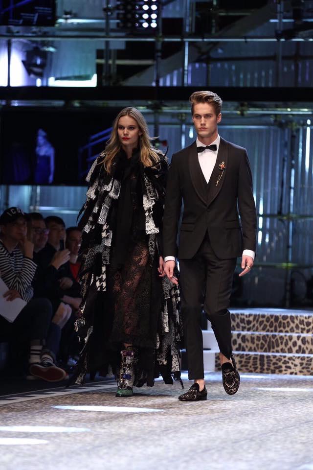 Dolce & Gabbana Autunno Inverno 2017-2018, foto