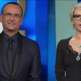 Festival di Sanremo 2017 Seconda serata Carlo Conti e Maria De Filippi