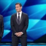 Festival di Sanremo 2017 Seconda serata Francesco Totti