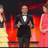 Festival di Sanremo 2017 Terza serata Annabelle Belmondo e Anouchka Delon