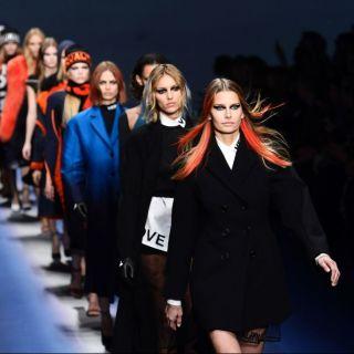 La politica psichedelica di Donatella Versace