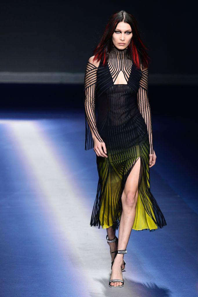 Versace Autunno Inverno 2017-2018, foto