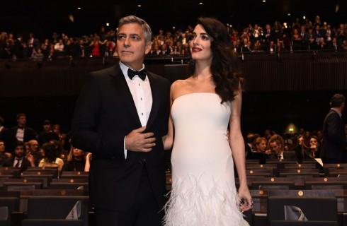 George Clooney quasi papà: si avvicina la data del parto di Amal Alamuddin