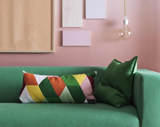 Cuscini per il divano con foto e prezzi diredonna for Divano 69 euro ikea