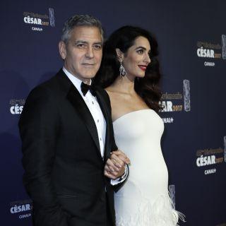 George Clooney e Amal a cena sul Lago di Como