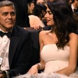 Amal Clooney e George Clooney ai Cesar Awards 2017