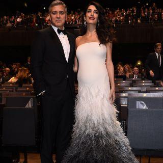 Amal Clooney ha partorito nella suite di Kate Middleton