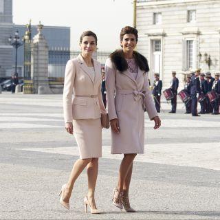 Letizia Ortiz e Juliana Awanda: regina e first lady di stile