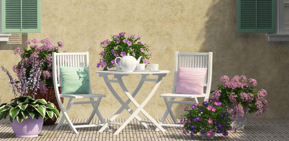 10 idee economiche per arredare il giardino con ikea e - Ghiaia da giardino leroy merlin ...