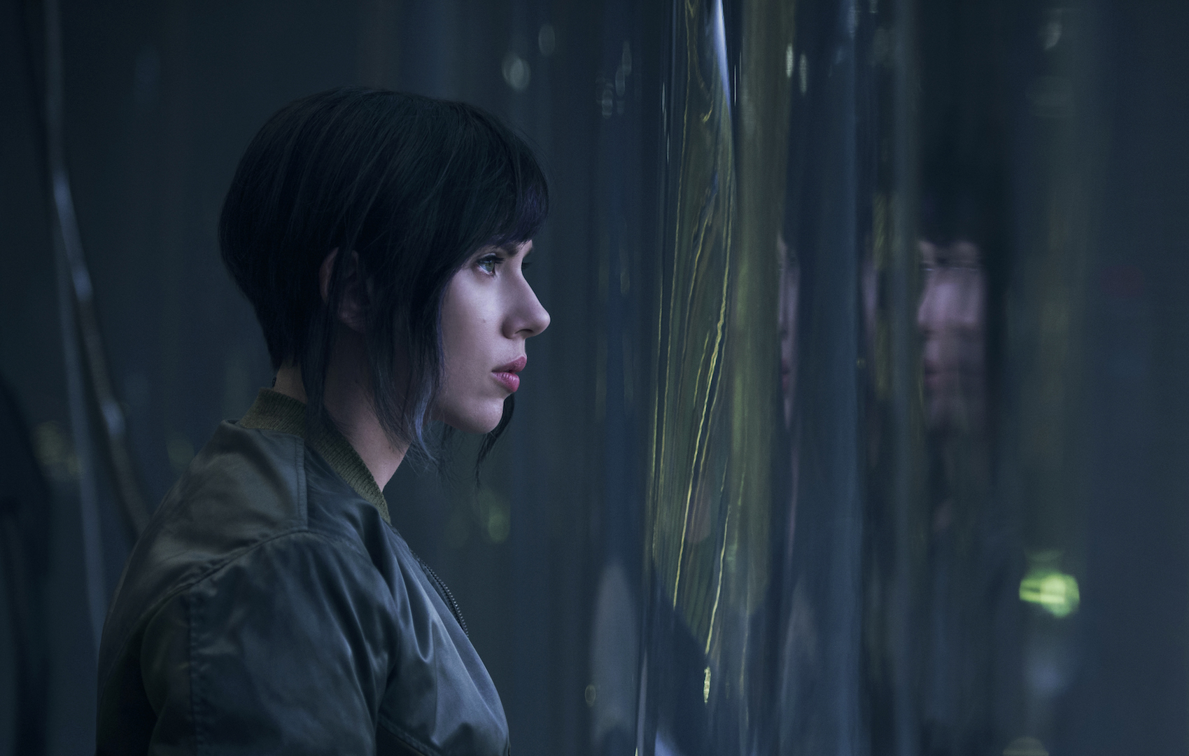 Ghost in the Shell con Scarlett Johansson, le foto