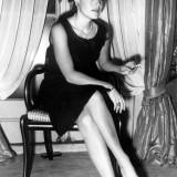 Chanel, Romy Schnieder con le scarpe bicolori (create nel 1957)