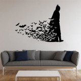 Batman Adesivo murale in vinile Dark Knight 23,26 euro su Etsy