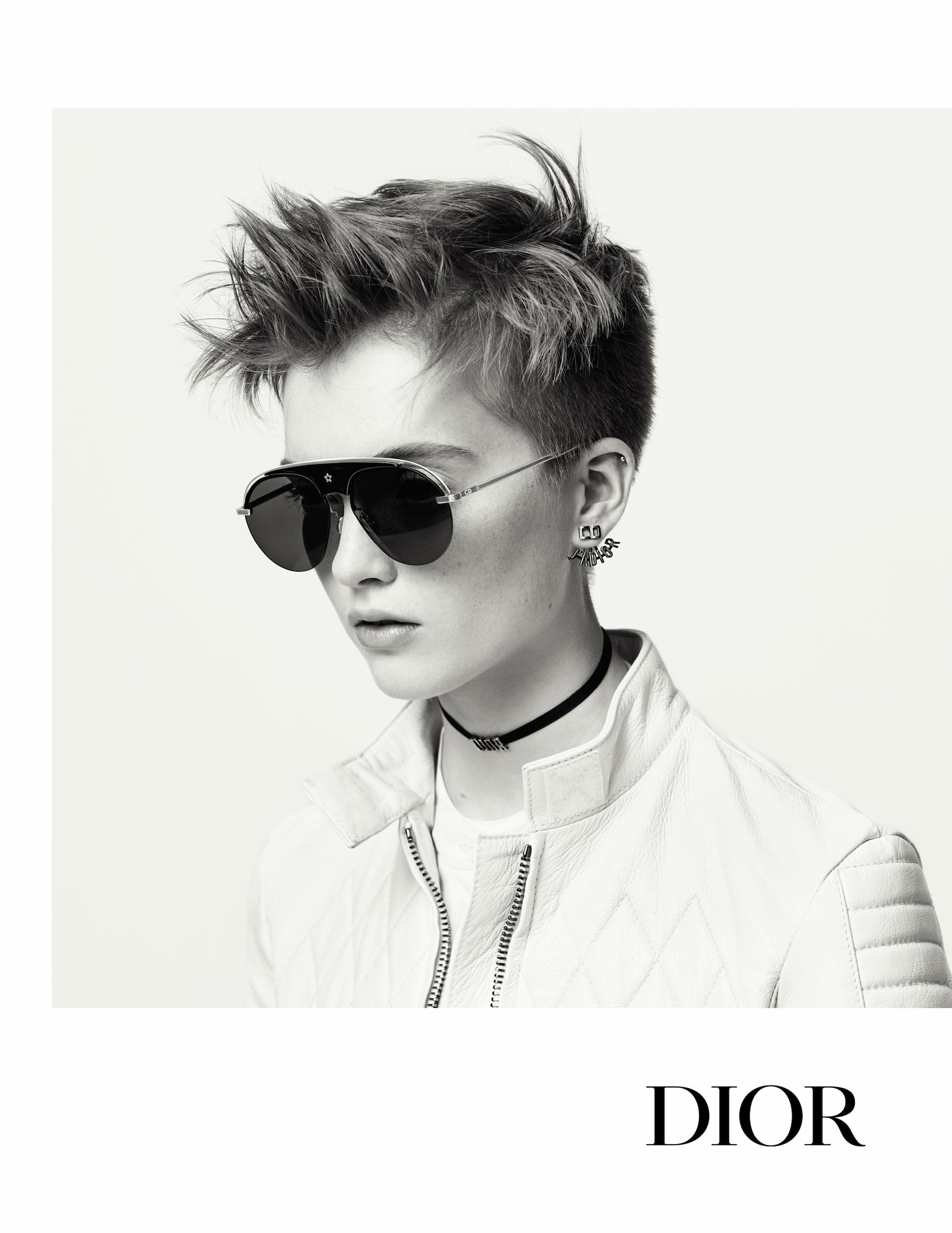 Occhiali da sole estate 2017 la collezione dior foto for Pubblicita occhiali da sole