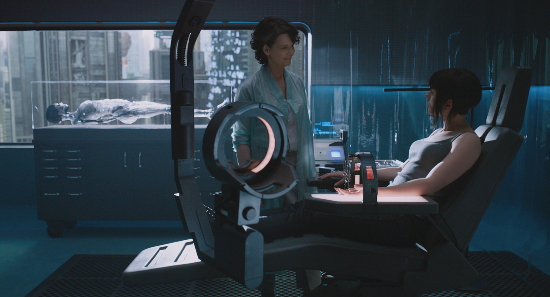 Ghost in the Shell con Scarlett Johansson, foto
