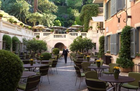 I migliori 10 ristoranti dove mangiare all'aperto a Roma