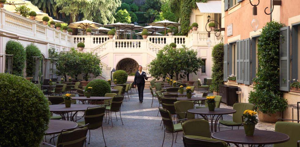 I Migliori 10 Ristoranti Dove Mangiare Allaperto A Roma Diredonna