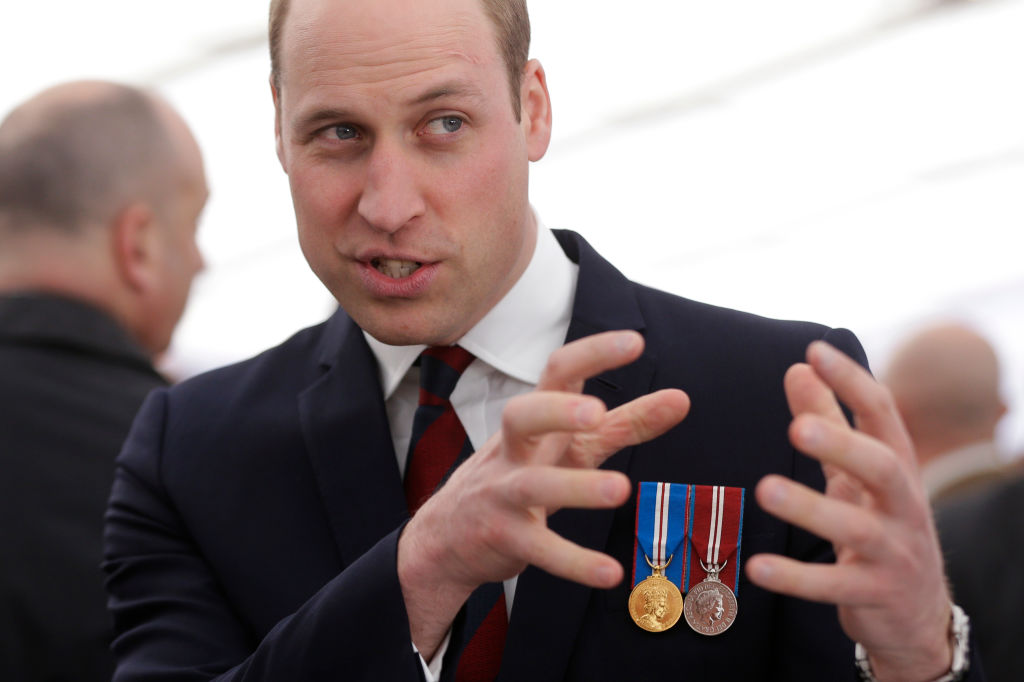 Il Principe William in vacanza senza Kate Middleton