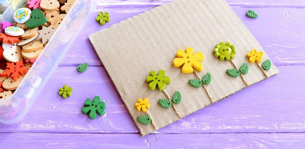 Lavoretti per bambini sulla primavera creativi facili e for Inferriate per finestre fai da te