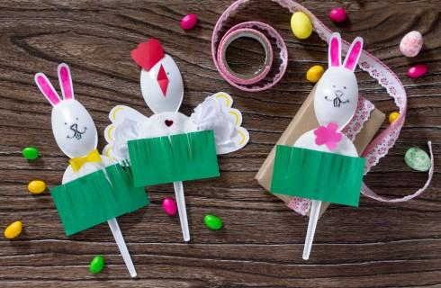 Come fare i lavoretti di Pasqua con la carta