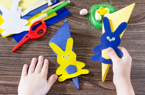 Lavoretti di Pasqua con cartoncino e materiale riciclato: 5 idee semplici